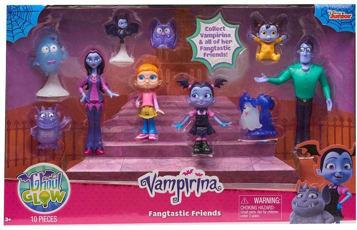 Disney Junior Vampirina Ghoul Glow Fangtastic Friends Set