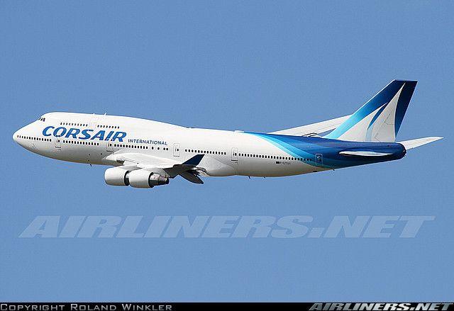 Boeing 747-422 aircraft picture   jean-claude trudeau ...