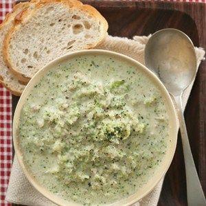 Romerige broccoli-sop