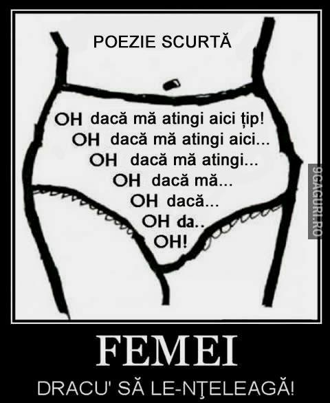 Poezie Scurtă Despre Femei! Vezi Postarea ➡ http://9gaguri.ro/media/poezie-scurta-despre-femei-1