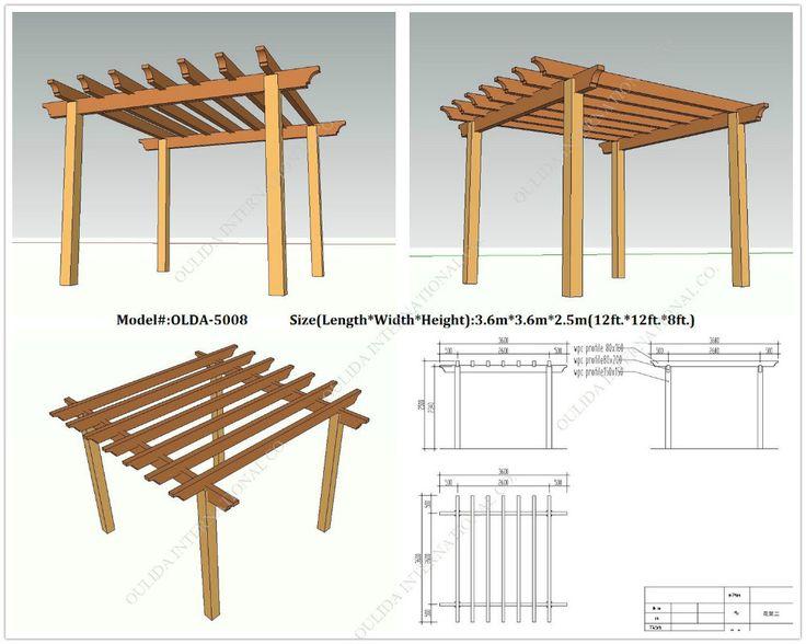 255 best wooden gazebo kits images on pinterest gazebo for Build your own gazebo free plans