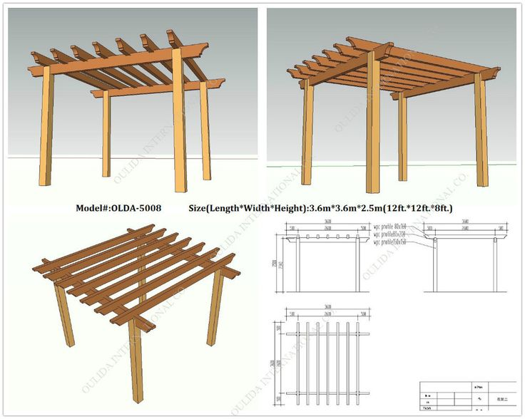 Do It Yourself Home Design: 255 Best Images About Wooden Gazebo Kits On Pinterest