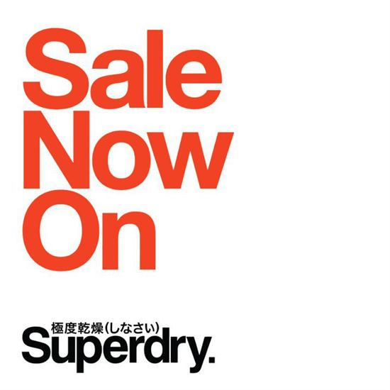 28 May-28 Jun 2015: Superdry Sale Now On