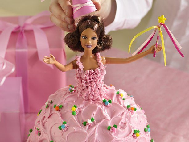 Fairy Tale Princess Cake w/ real doll and video instructions from Betty Crocker