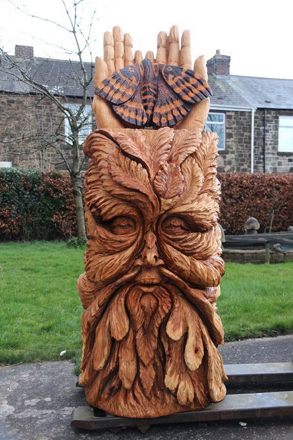 Best images about carvings in trees on pinterest