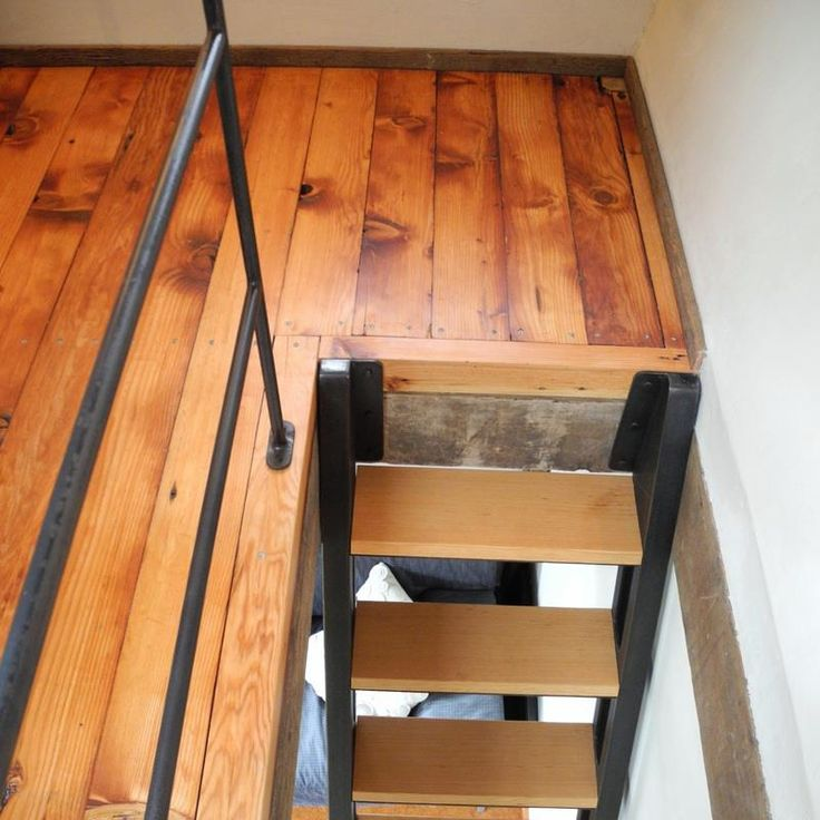 tiny house loft ladder. The Backyard House: Built From Recycled Barnboards. Tiny House StairsTiny Loft Ladder I