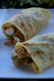 la cossa dukan: Burritos de pollo