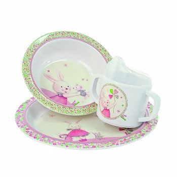 Moulin Roty Myrtille et Capucine My First Tableware Set $52.00 #sweetcreations #baby #toddlers #kids #feeding #feedme