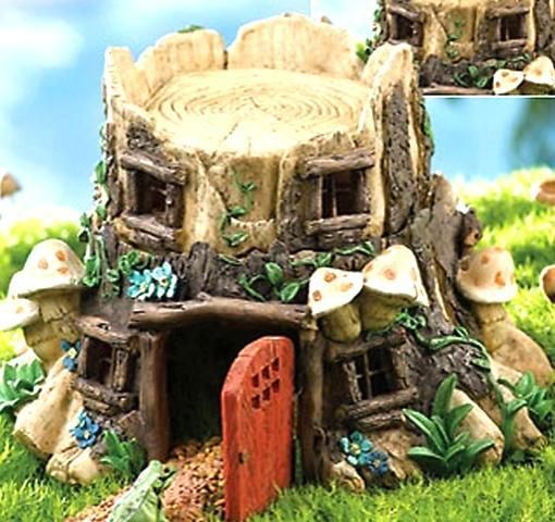 37 best tree stump art images on pinterest birdhouses Make your own toad house