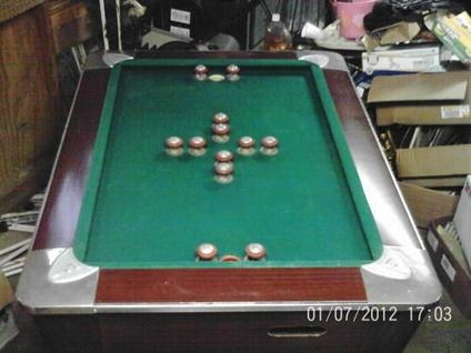 Captivating 250Vintage Fischer Fiesta 58 Bumper Pool Table In Ford City .