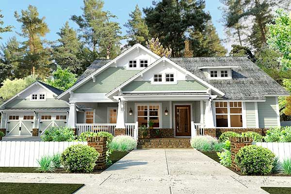 3 Bedroom House Plan designed for those who like porch swings! 3 beds 2 baths Under 1,900 sq. ft. Very Nice!