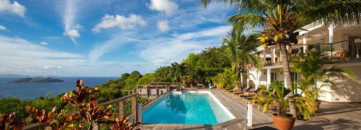 Villa SKY - St. Barths Online | St Barts Villa Rental - 4 Bedrooms - Petite Saline - French West Indies - Caribbean Sea