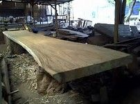 Image result for meja kayu alami