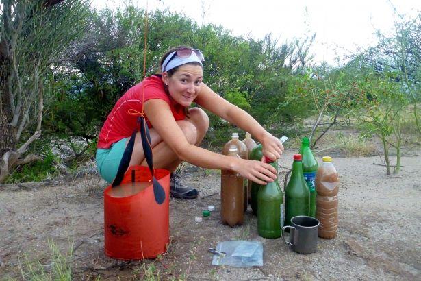 Female hygiene: a backcountry guide and tips - I'm definitely making myself a pee-rag.