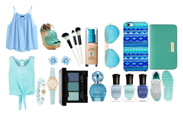 """Aqua blues , greens . Energy filled colours"" by moniquebovino on Polyvore"