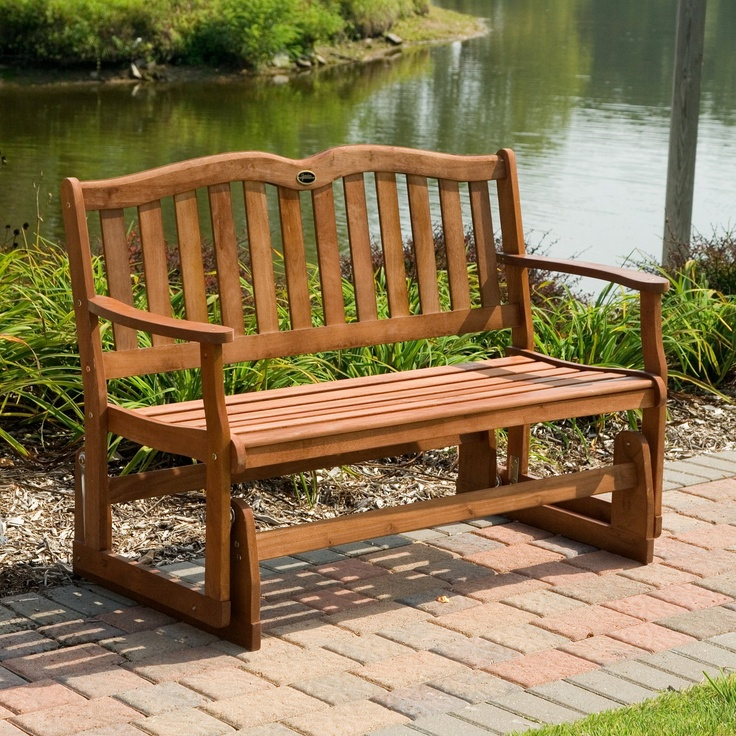 outdoor loveseat glider share a relaxing afternoon with a friend or loved one on the jordan alpine 4 ft this twoperson glider features