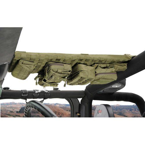 Smittybilt G.E.A.R. Overhead Console for 97-06 Jeep® Wrangler TJ & Unlimited