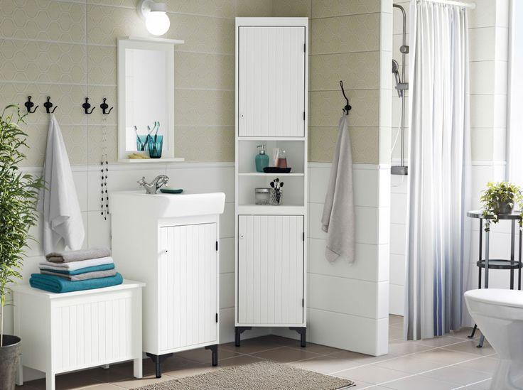 Die besten 25+ Badezimmer mit weißen Fliesen Ideen auf Pinterest - inspirationen schwarz weises bad design