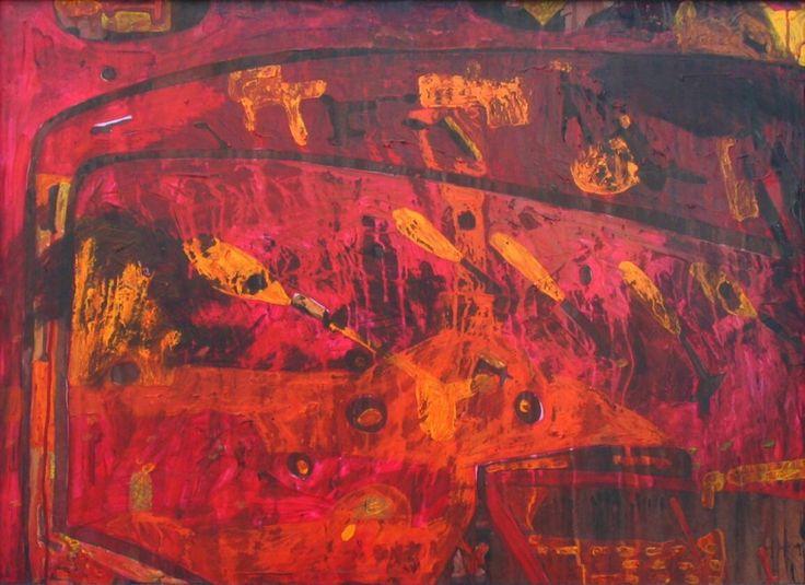 Burning - Zdeněk Tománek