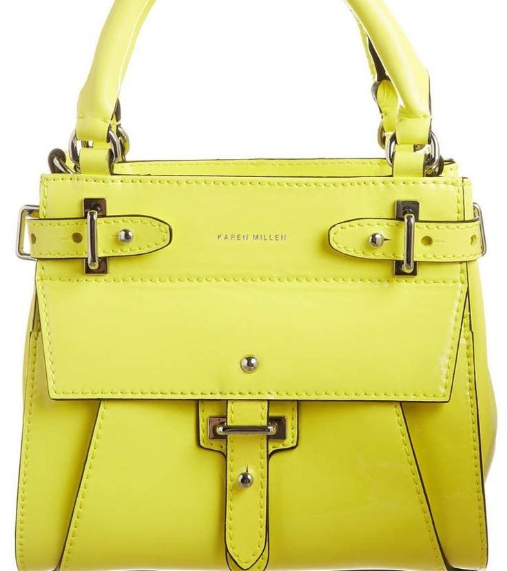 Gele handtas van Karen Millen @ Zalando ♥ Geel