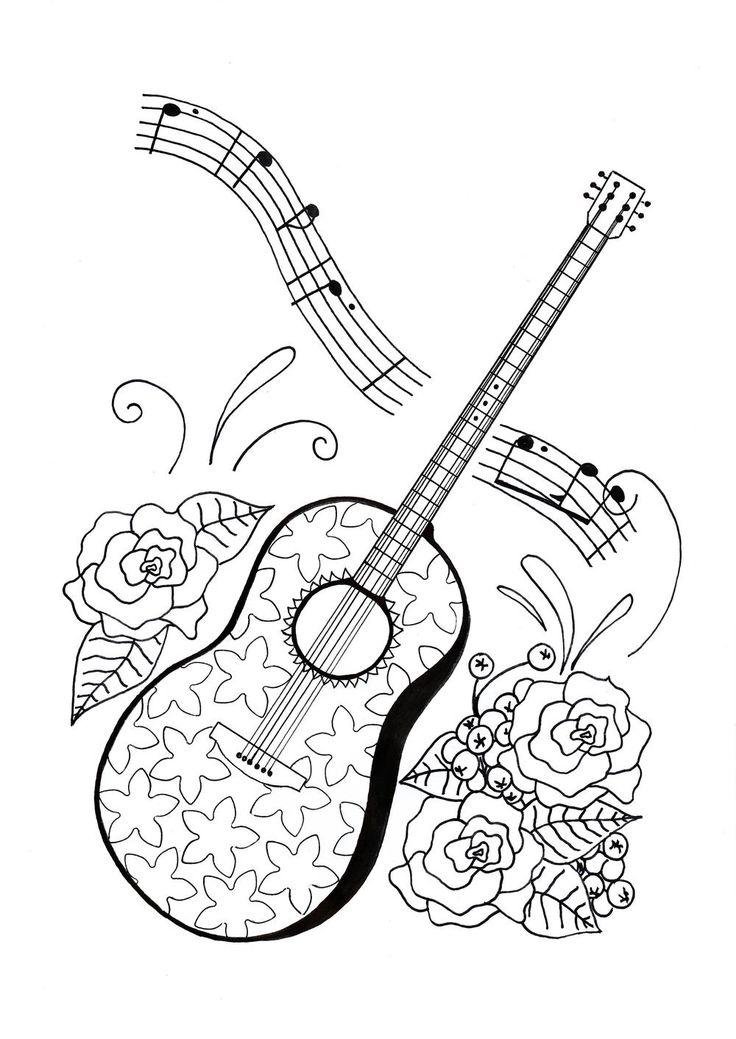 Музыканты картинки для распечатки