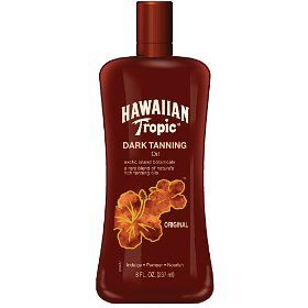 Hawaiian Tropic: The BEST outdoor tanning oil.  No SPF but it will get you really tan, really quickly.