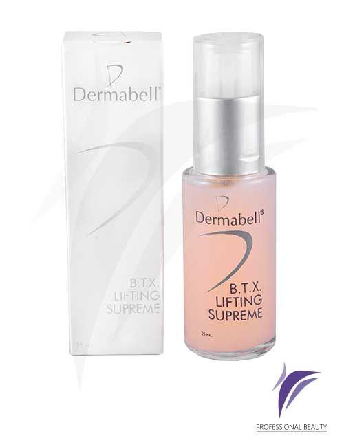 BTX Lifting Supreme 25ml: Suero antiedad con una combinación de isoflavonas y biopeptidos que atenúan las líneas de expresión, aportando luminosidad y regeneración a la piel.