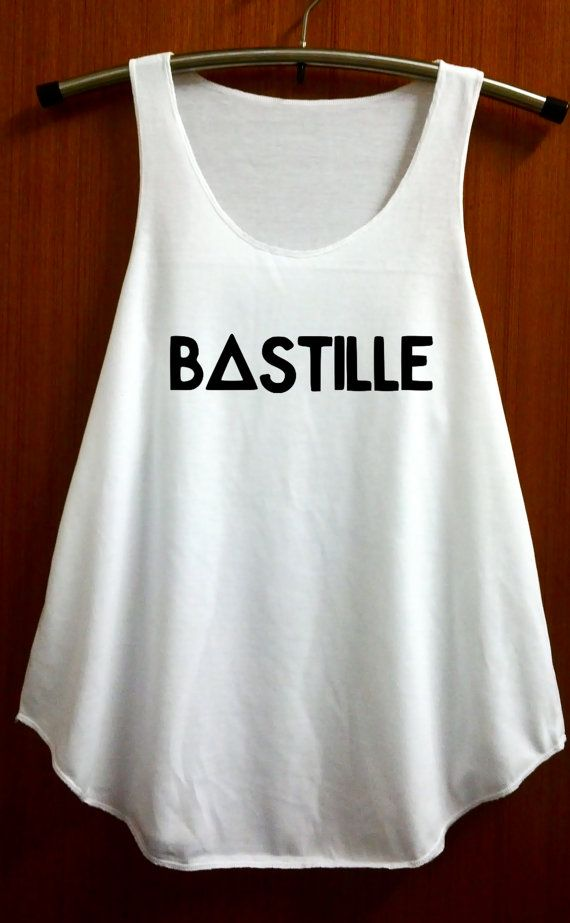 Bastille Shirts Bastille Band Shirt Tank Top T Shirt by ABBEYSTORE, $14.99