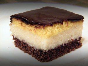 Receptbázis - Kókuszos süti - Tészta:4 tojás ,13 ek cukor ,1 dl tej vagy kefir…