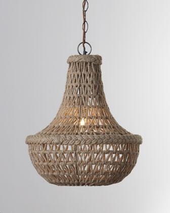 Nautical chandelier.