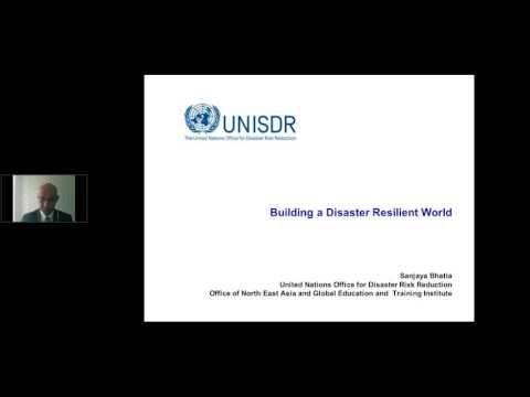 Urban Planning and Disaster Risk Managment - Webinar HABITAT III