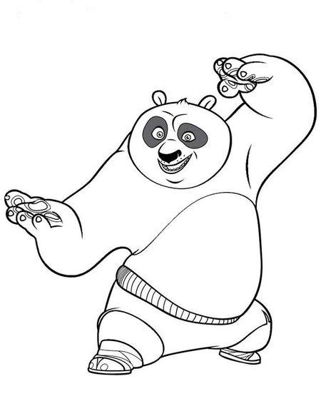 40 Printable Kung Fu Panda Coloring Pages For Kids Disney