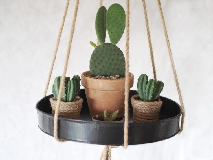DIY hanging tray