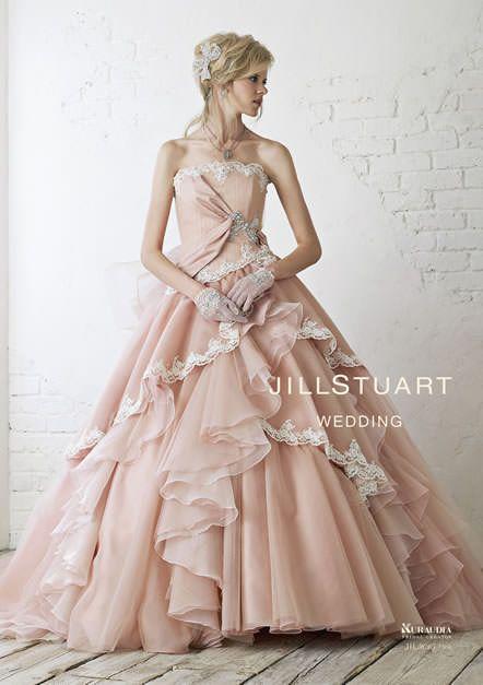 カラードレス|ブライダルコレクション|JILLSTUART WEDDING[ジル スチュアート ウェディング]