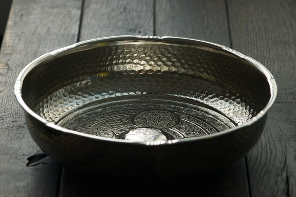 copper hammam bowls