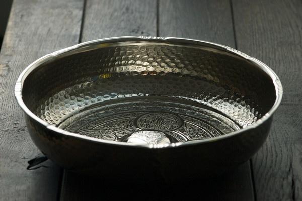 copper hammam bowls