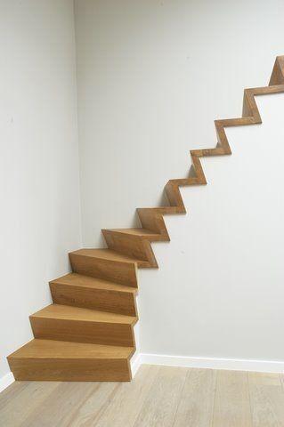 25 beste idee n over tuin trappen op pinterest buiten trapladder buiten trappen en landschap - Ontwerp betonnen trap ...