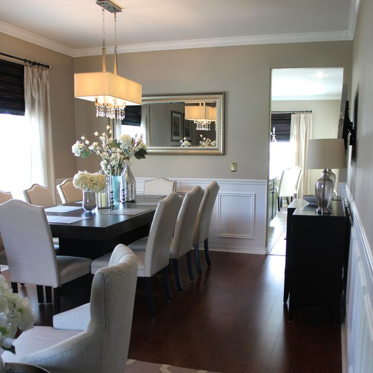 Wainscoting Ideas Dining Room: Best 25+ Faux Wainscoting Ideas On Pinterest