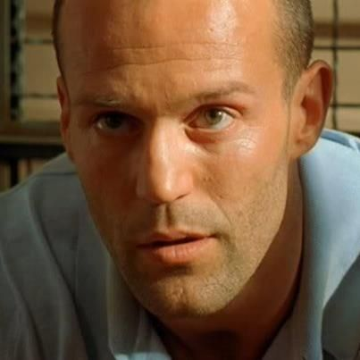 """The Transporter"", Jason Statham- sexiest bald man, aside from Dwayne Johnson!"