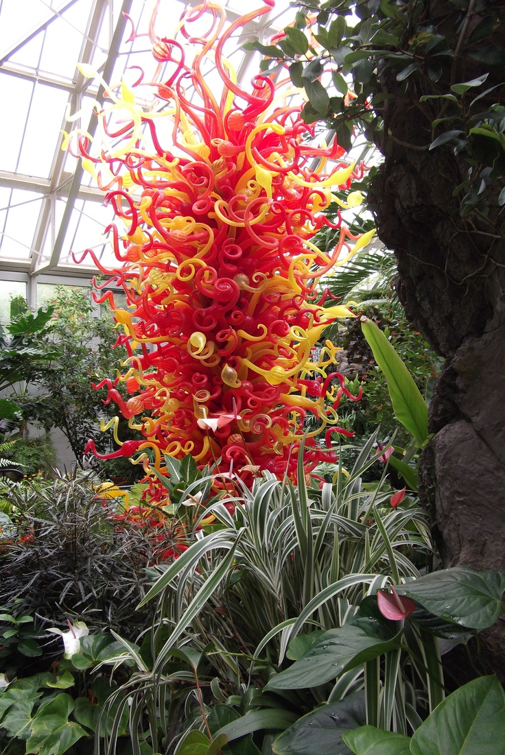 Chihuly Sculpture In The Butterfly Garden Of Columbus, Ohiou0027s Arboretum, |  Random Fun | Pinterest | Dale Chihuly, Art History And Glass Art