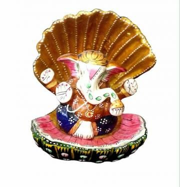 Bring home this adorable Ganesha statue from Stylo and experience its positive and soothing vibe each day! This statue is made of the finest polyresin and looks really nice in a mixture of several colors.