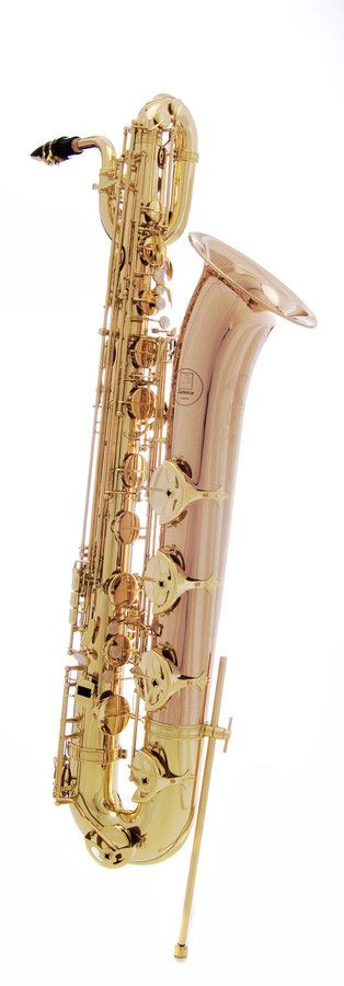 John Packer JP144 Cadence Eb Baritone Saxophone The JP144 Cadence is a Eb Baritone Saxophone offering high technical standards in support of great versatility and resonance in performance. The instrument's rose brass bow and bell give great depth to the sound. For the price, this instrument is unsurpassed. The JP144 Cadence has been credited as having a rich tone and smooth and easy action ov...