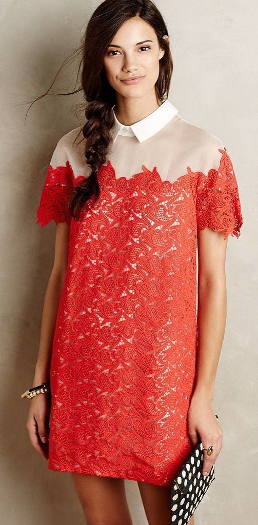 Keep it classy with this Paul & Joe Sister Lillan Lace Shift ($295)