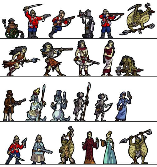 17 Best Images About Paper Miniatures For Rpgs On