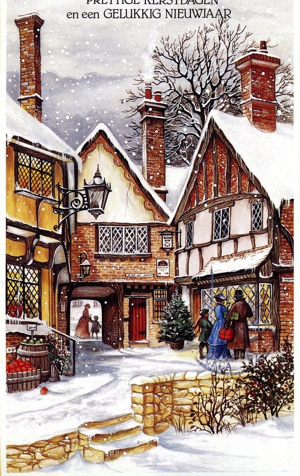 522 best images about Christmas Scenes on Pinterest ...