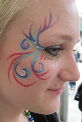 easy face painting ideas for kids party  fairy party