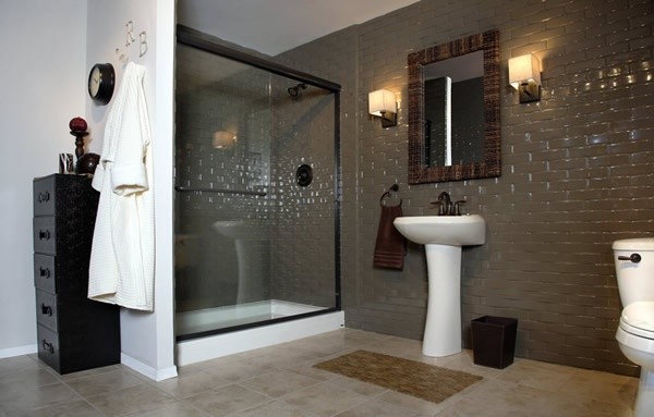 Subway Tile Wall Surround Made Of DuraBath SSP Material Will Last A Lifetime
