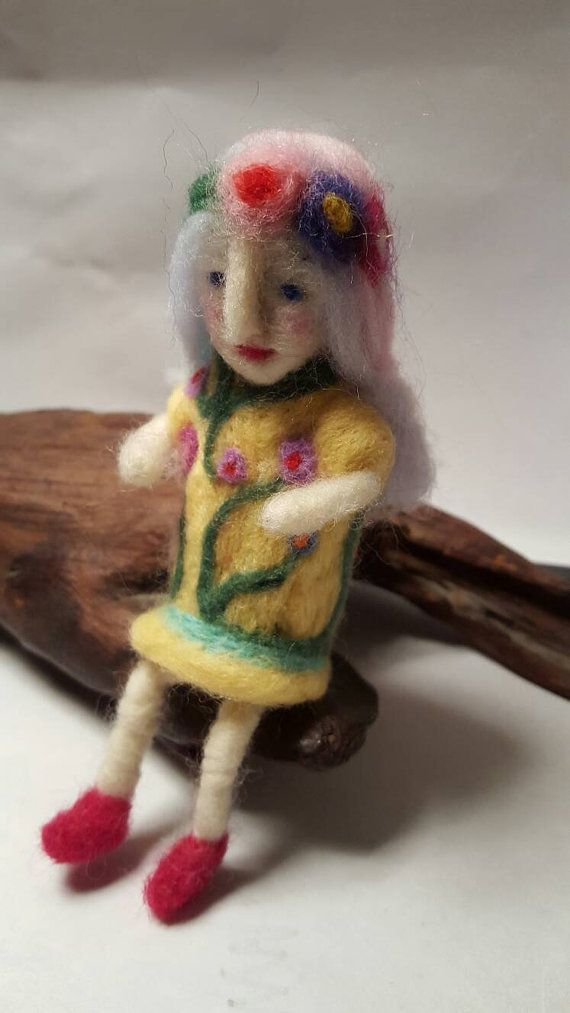 Hey, I found this really awesome Etsy listing at https://www.etsy.com/uk/listing/293338415/needle-felted-flower-fairy-art-doll