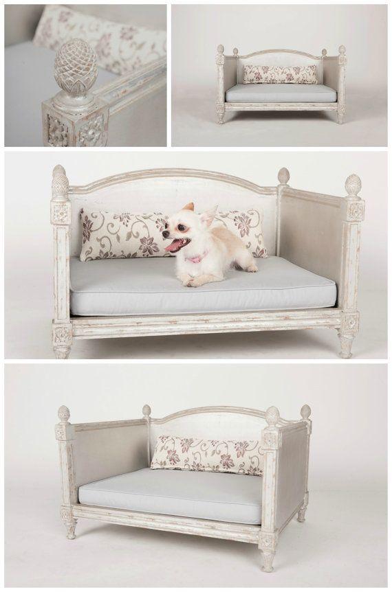 Les 25 meilleures id es de la cat gorie lits pour chien - Lit pour chien en palette ...