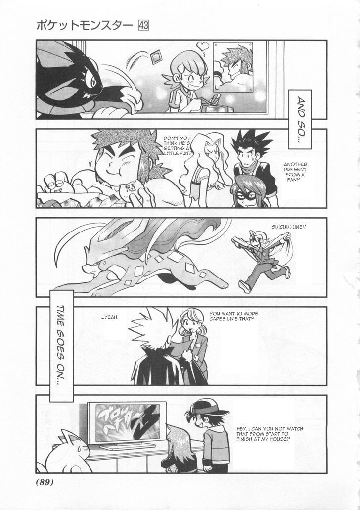 Read manga Pokemon Adventures vol.043 ch.460 online in high quality